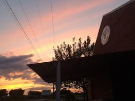 Beautiful Sunset at the Crawfish Barn