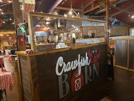 Hostess Station at the Crawfish Barn