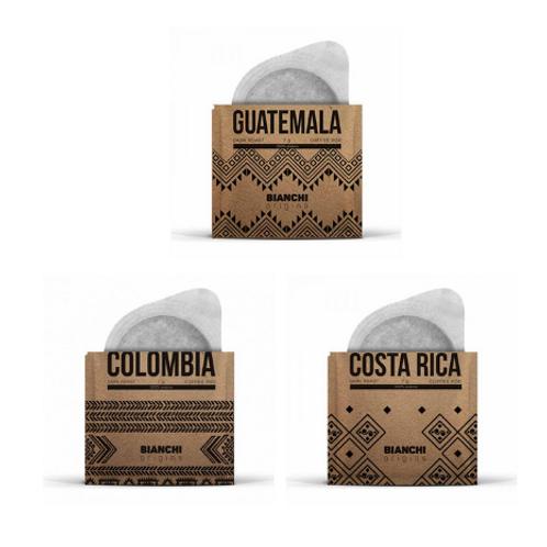 Bianchi Origins Mix Costa Rica, Guatemala, Colombia Yöresel Pod Espresso