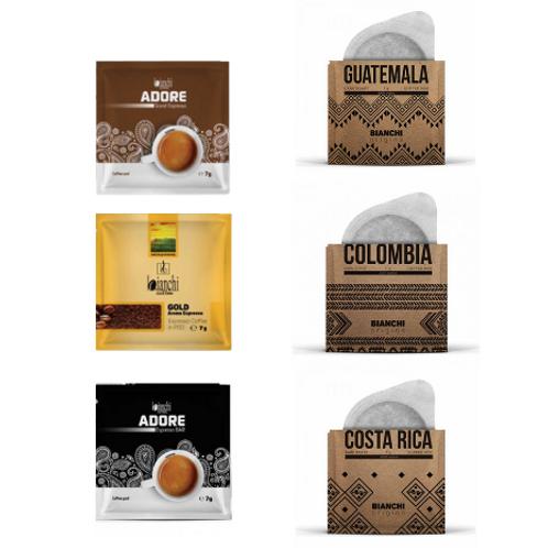 Bianchi Pod Kahve Tadım Paketi 18'li Paket