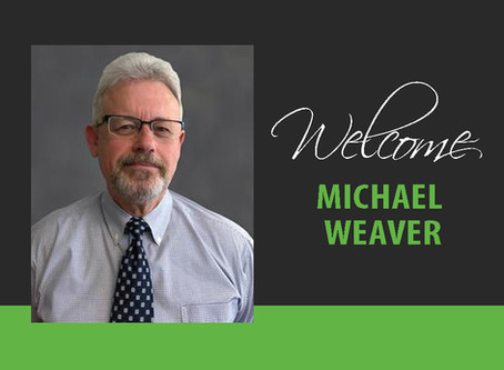 Welcome Michael Weaver