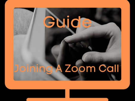 Guide - Joining a Zoom Call