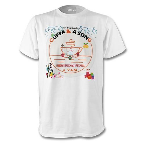 Cuppa and a Song - Christmas Tee