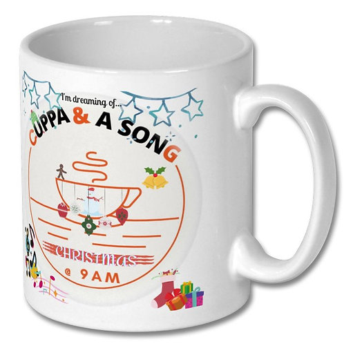 Xmas Mug - Cuppa and a Song