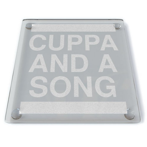 Cuppa and a Song Coaster