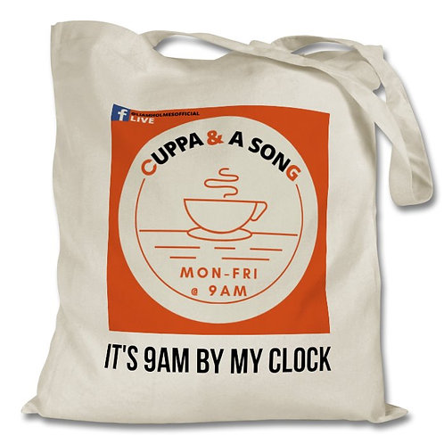 Cuppa and a Song Tote Bag