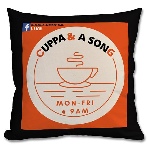 Cuppa and a Song Cosy Cushion