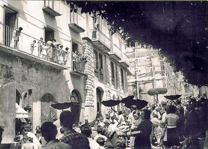 Ph: Franco Valente - Matrimonio di Angela Mencarone e Gaetanino Franchitti – Corso Garibaldi alla fine degli anni '50.