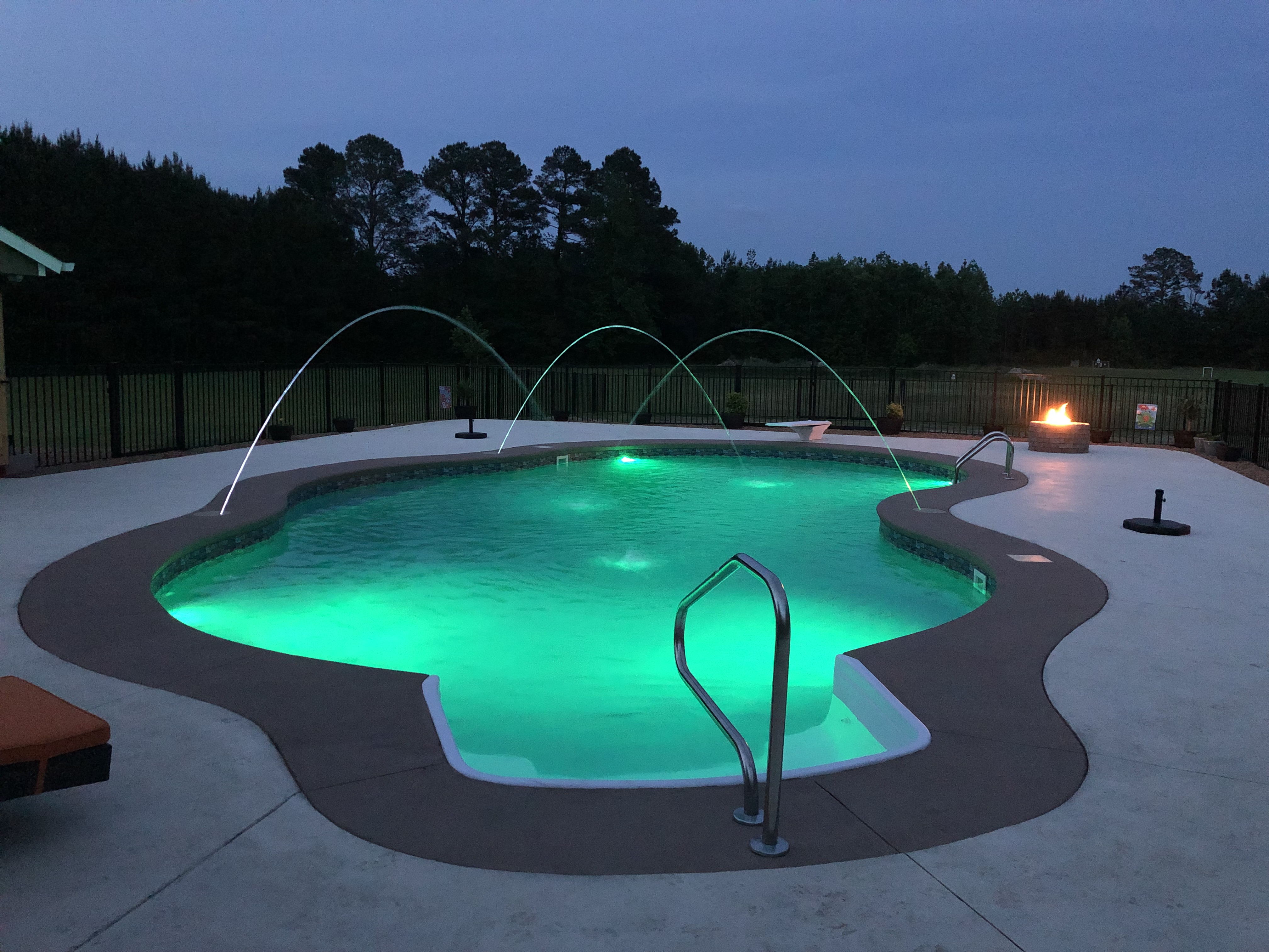 Custom Water Features & Lights