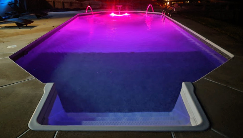 Custom Lights & Water Features
