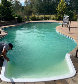 Pool Brushing, Cleaning, & Chemicals