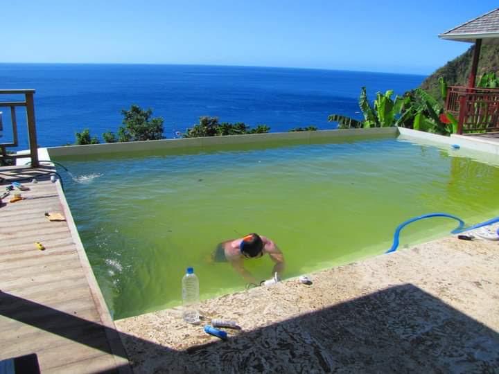 Green Swimming Pools