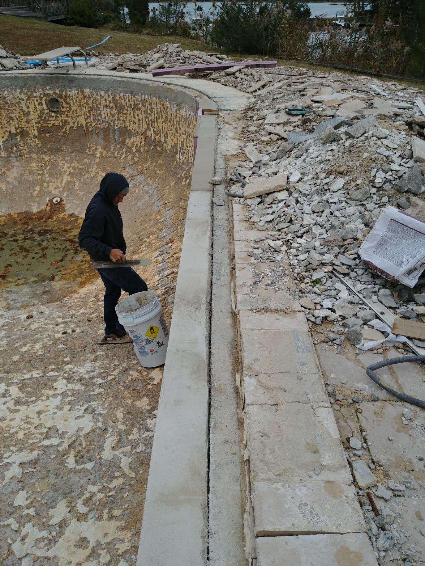 Concrete Swimming Pool Renovation