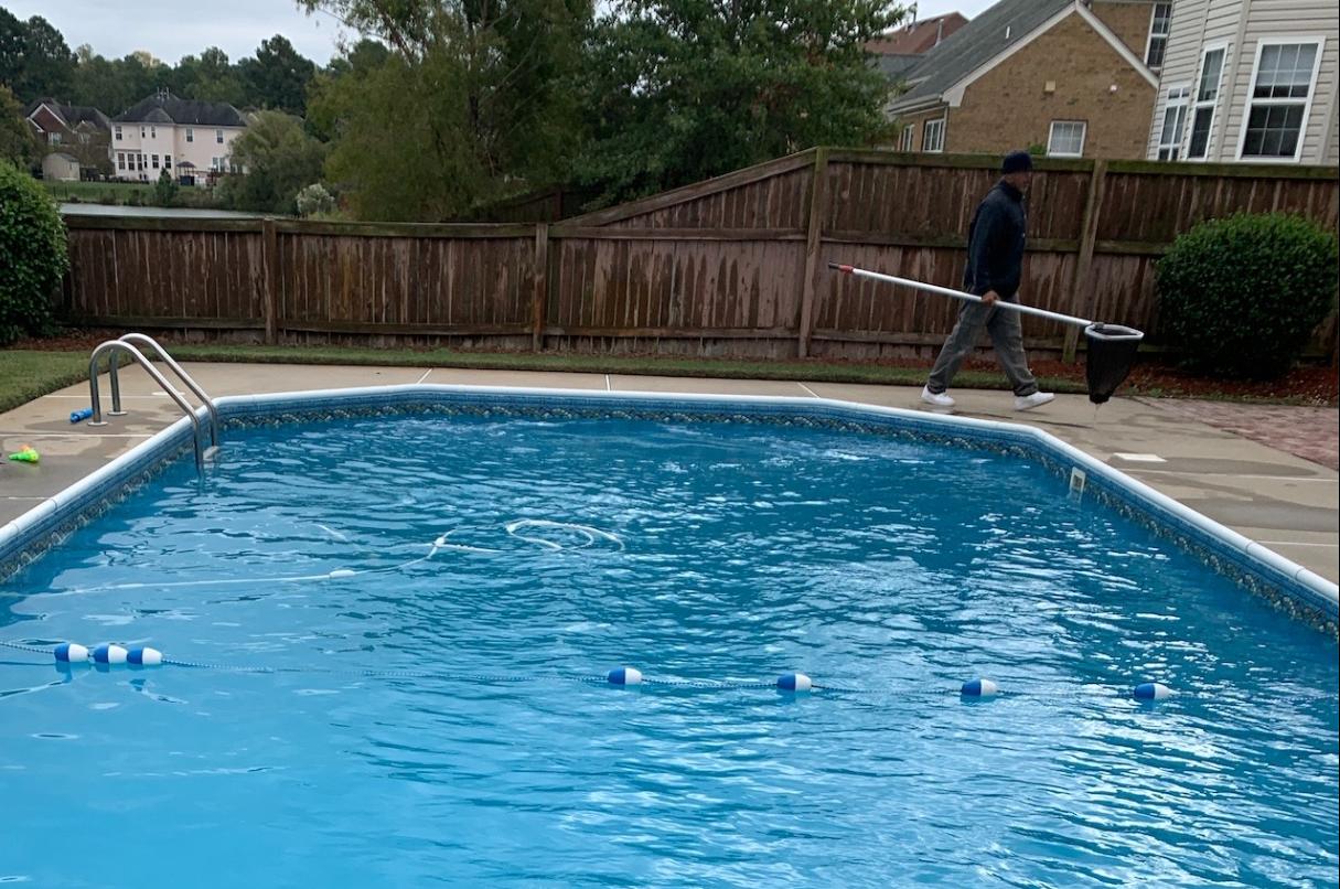 Pool Skimming