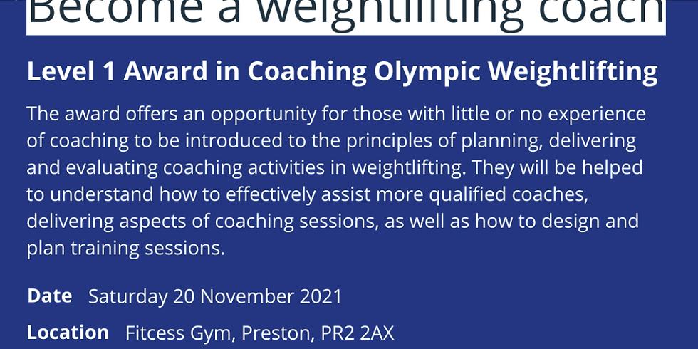 British Weightlifting Level 1