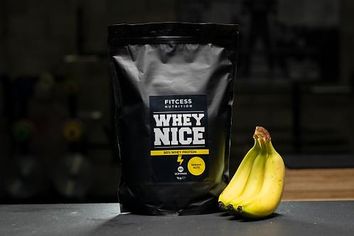 Whey Nice Protein Powder - Banana Blitz