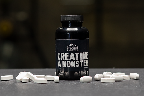 Creatine A Monster Tablets