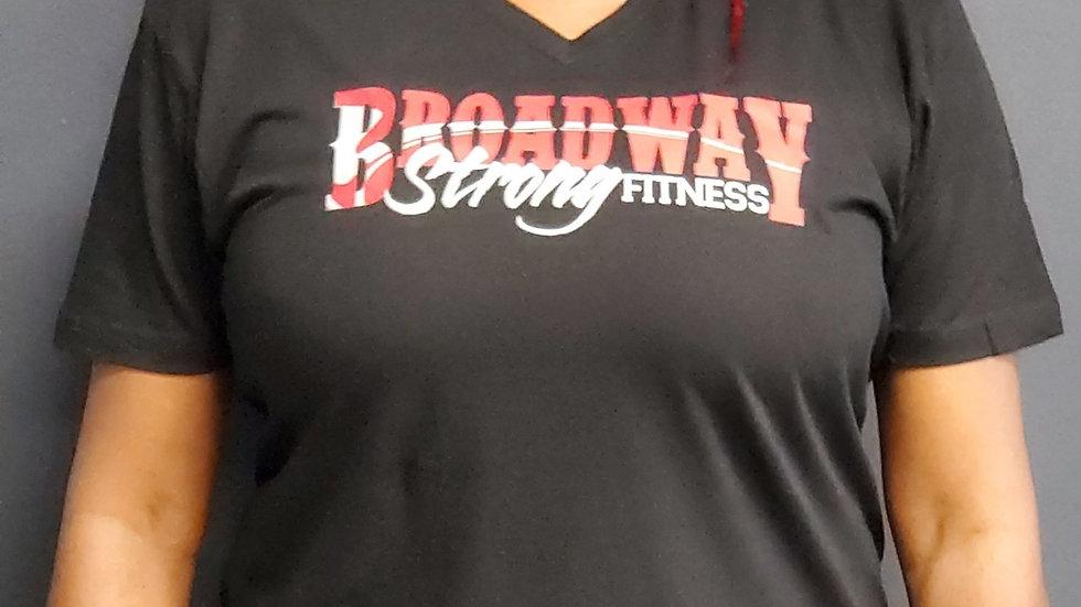 Large Broadway Strong V-neck