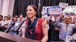 New US Congresswomen carry hopes of Native Americans