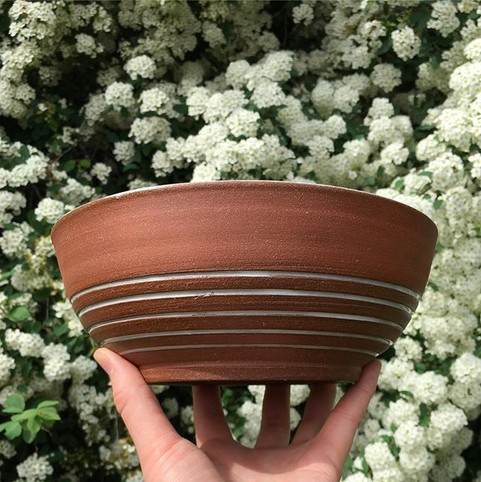 100% starting a line of red clay bowls ?