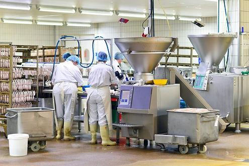Produktion in der Lebensmittelindustrie