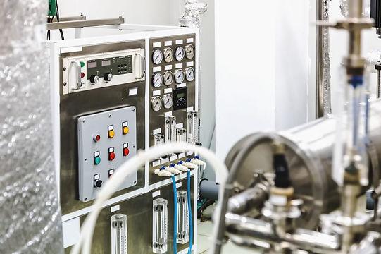 Steuerboard einer Produktionsmaschine