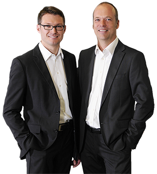 Lars Kobialka und Sebastian Dröber, Geschäftsführung
