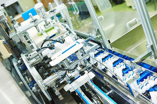 Moderne Produktionsanlage