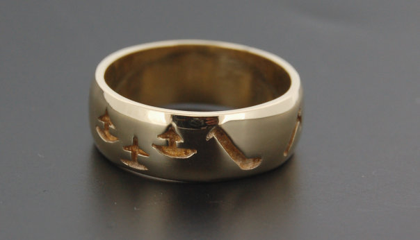 Gold Wexford Ring