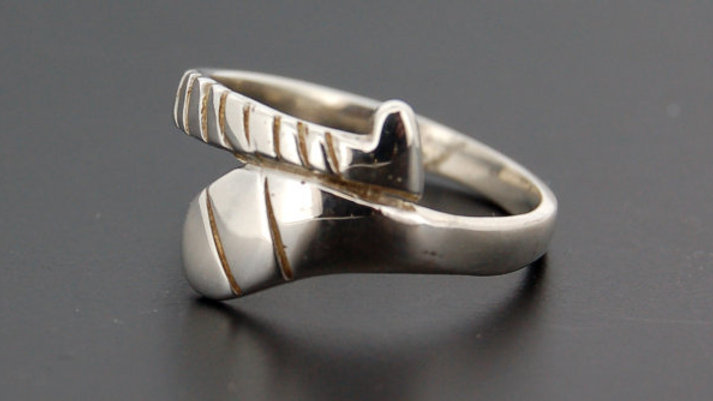 Silver Hurley Ring