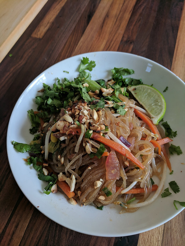 Vegan Glass Noodles Sweet Potato Noodles Pad Thai Gf Soy