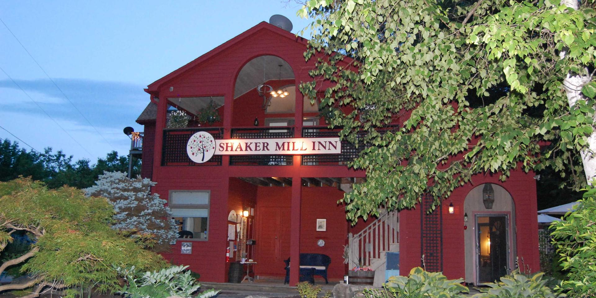 Nighttime at the Shaker Mill Inn