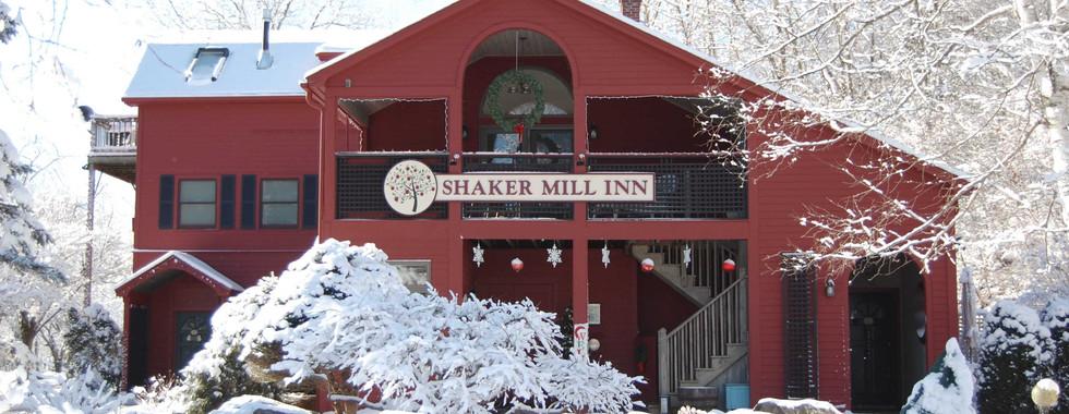 Wintertime at the Shaker Mill Inn