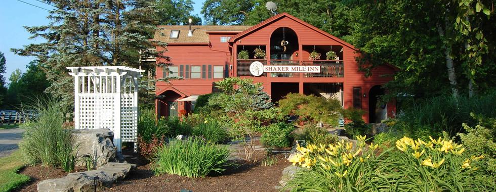 Summertime at the Shaker Mill Inn