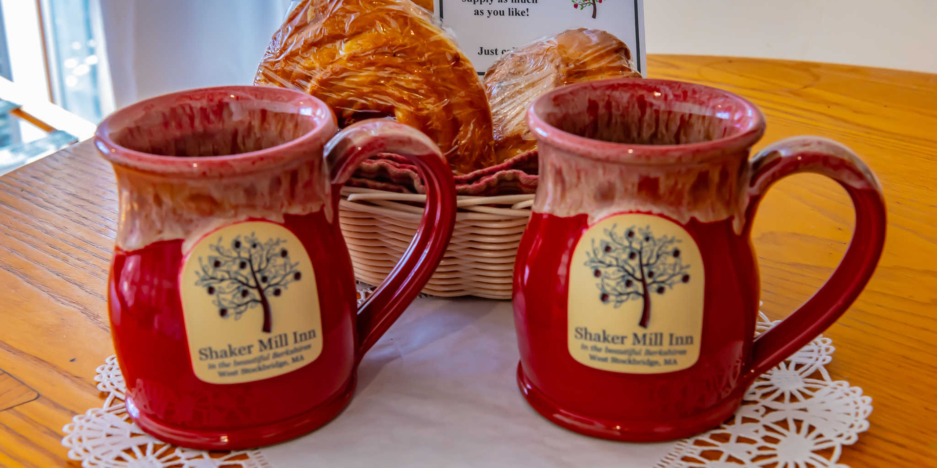 Shaker Mill Inn Mugs Available for Purchase