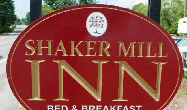 Shaker Mill Inn Outdoor Sign