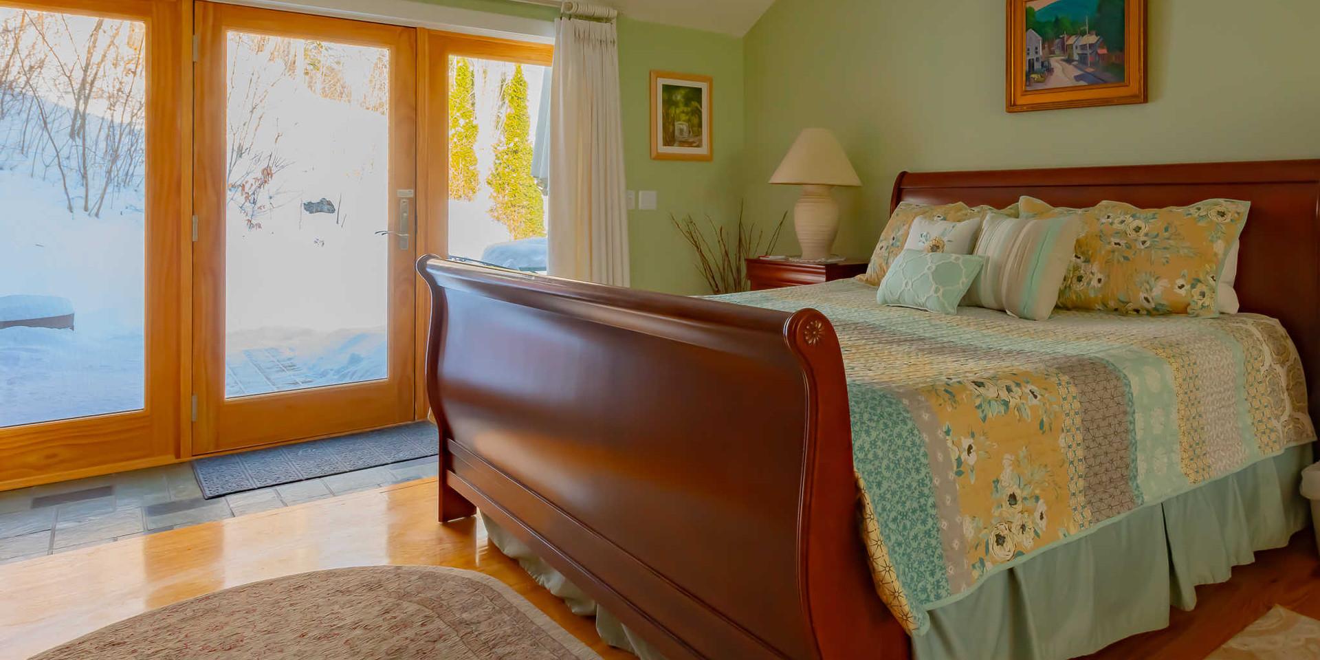 Honeymoon Suite at the Shaker Mill Inn