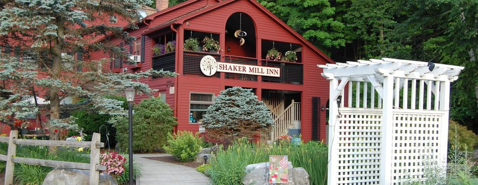 Outside at the Shaker Mill Inn