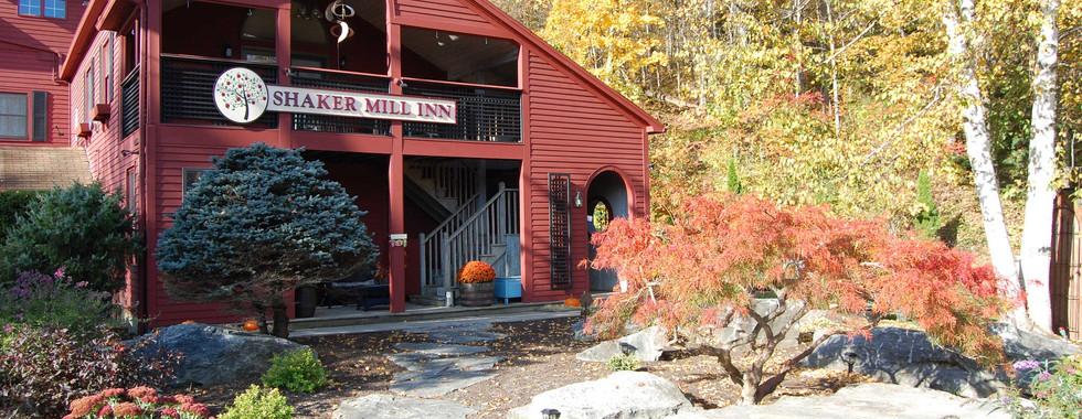 Fall Folliage at the Shaker Mill Inn