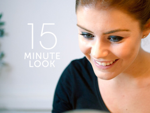 15 MINUTE LOOK | SMUDGED LINER