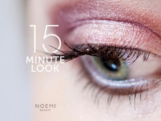 15 MINUTE LOOK | AUBERGINE EYES