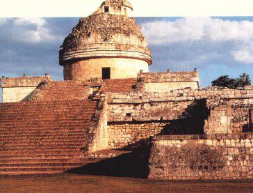 Observatório Maia em Chichen Itza