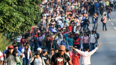 Marcha de imigrantes ao EUA e os sinais da falência do sistema global