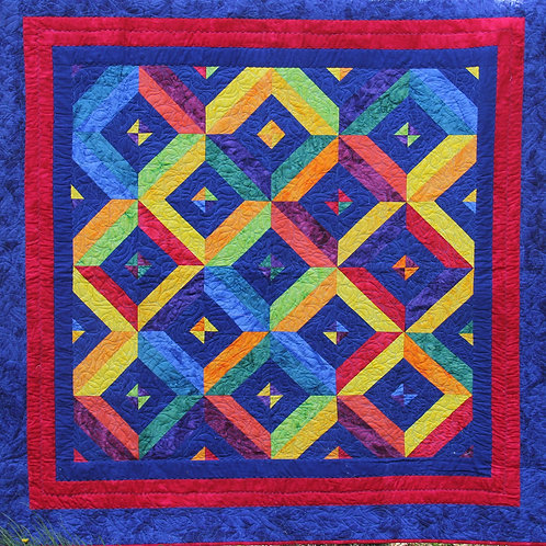 All Squared Up Kid's Quilt/Wallhanging