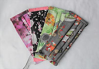 Adult Face Mask 4 Pack Fun Fabric Collection