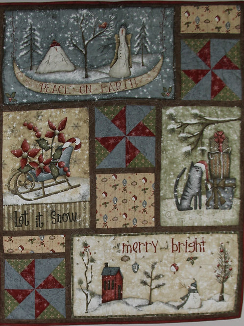 Wallhanging WinterWishes Quilt