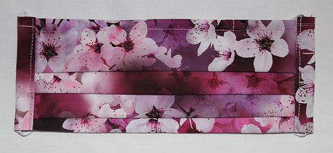 PPE- 3 Layer Face Mask- Cherry Blossom