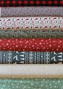 Christmas Print Fabric (#5)