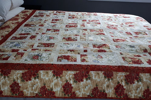 Double quilt Shadowbox