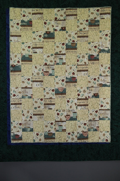 Focus Fabric Lap Quilt